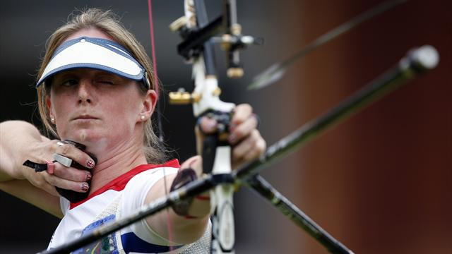 Nerves get better of Folkard in Olympic archery