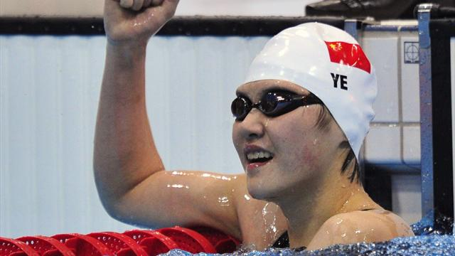 Ye claims Olympic 200m medley gold, Miley seventh