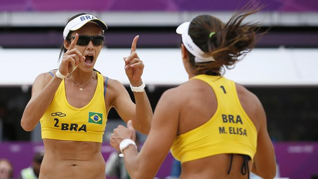 Brazil overcome Germany to reach Olympic knockout stage