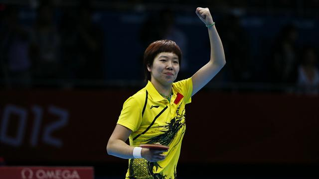 All-Chinese final in Olympic women's table tennis