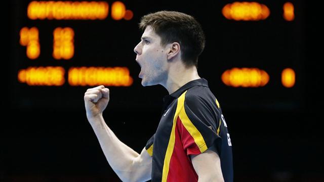 One European remaining in men's table tennis