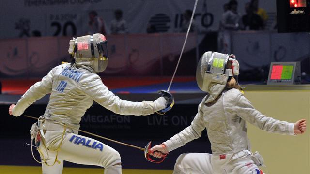 Anche la sciabola femminile a Rio 2016
