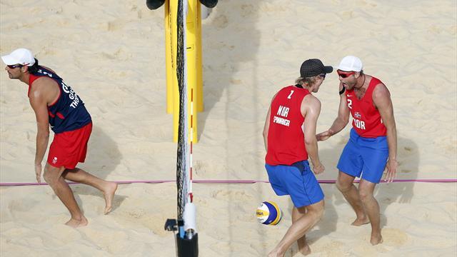 Beach volley Brit men lose again at Olympics