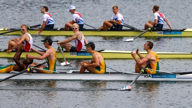GB edged into Olympic silver by South Africa