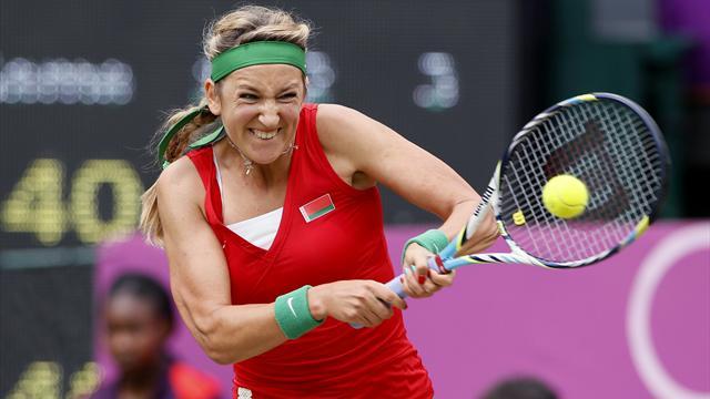 Azarenka to face Serena in Olympic semi
