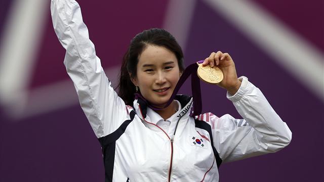 Ki wins individual Olympic archery