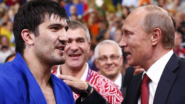 Khaibulaev judo gold delights Putin