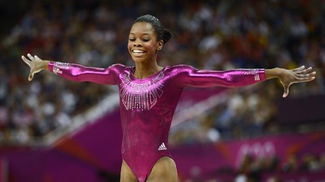 Douglas wins Olympic all-around gold