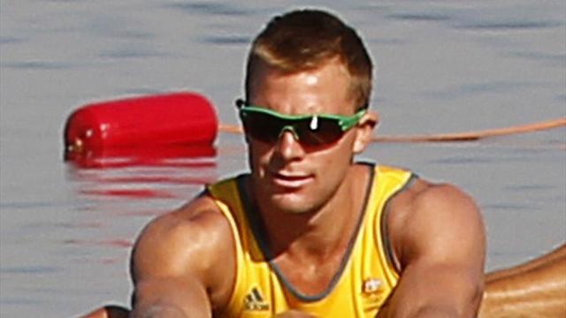Aussie rower sent home over drunken rampage