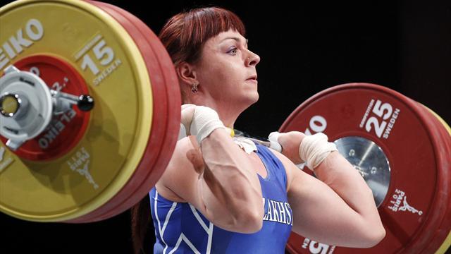 Podobedova earns Olympic weightlifting gold