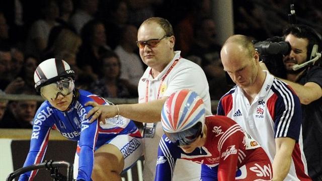 Olympic cyclist Baranova sent home for positive test