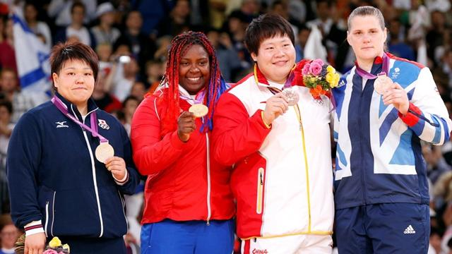 Bryant wins Olympic bronze, gold for Ortiz