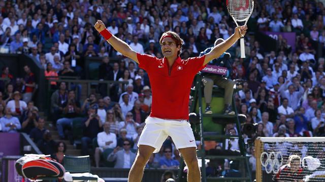 Federer reaches Olympic final after marathon semi