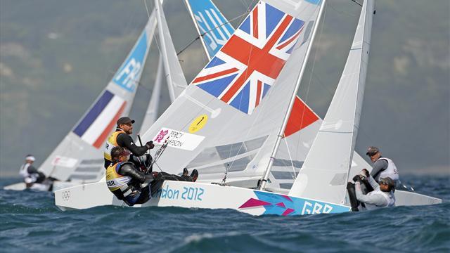 British duo guarantee Olympic star class medal