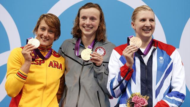 Bronze for Adlington as Ledecky wins Olympic 800m final