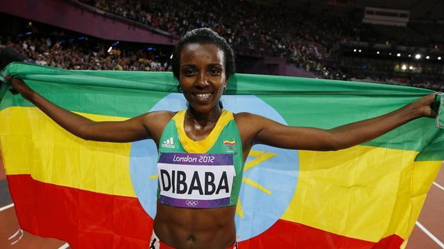 Majewski, Dibaba win first Olympic Stadium golds