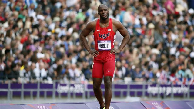 Merritt pulls out of Olympic 400m heats