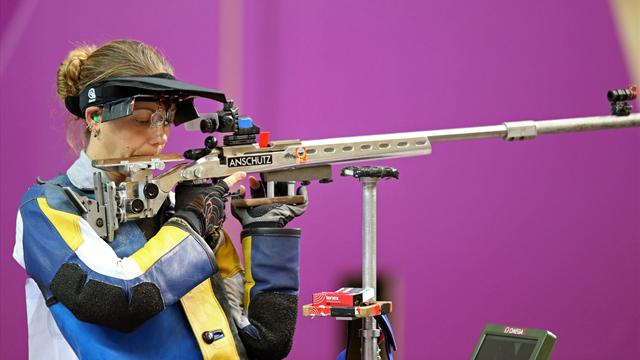 Gray wins Olympic 50m three position rifle