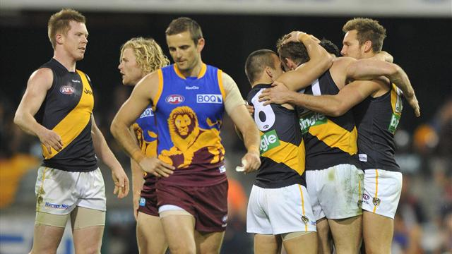 Richmond down Lions by 48 points