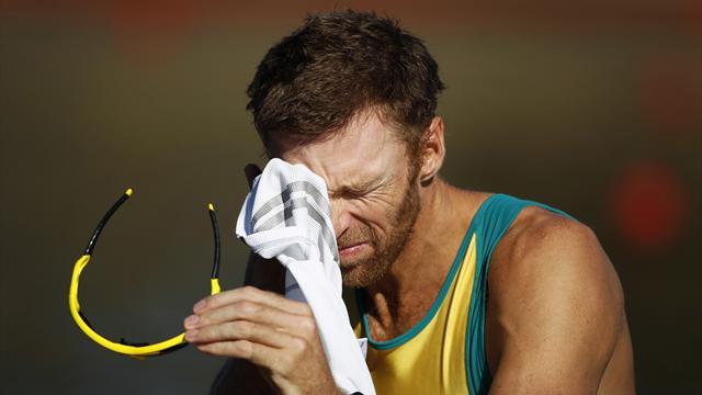 Tearful Ginn considering future after Olympic heartbreak