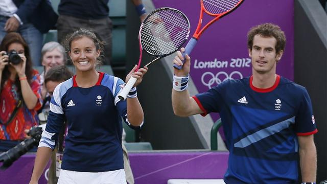 Murray and Robson reach Olympic mixed doubles final