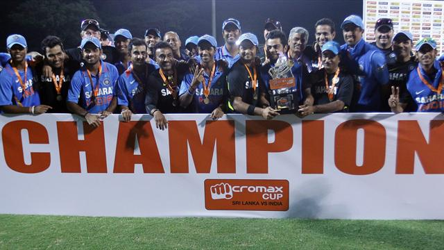 India complete series with win