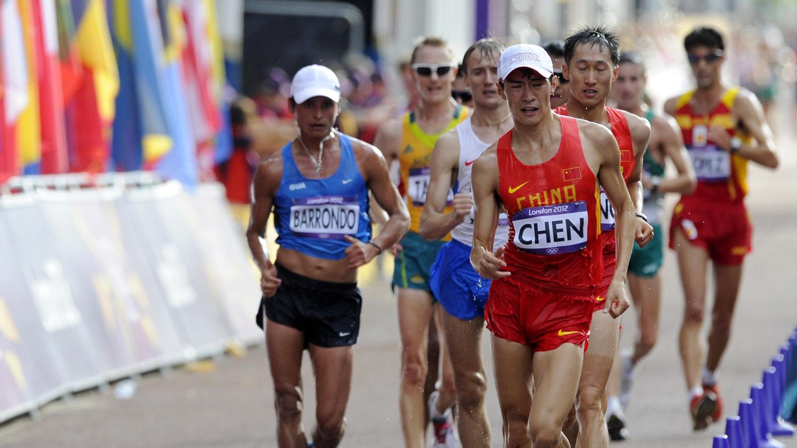 Chen wins 20km walk - Olympic Games 2012 - Athletics - Eurosport