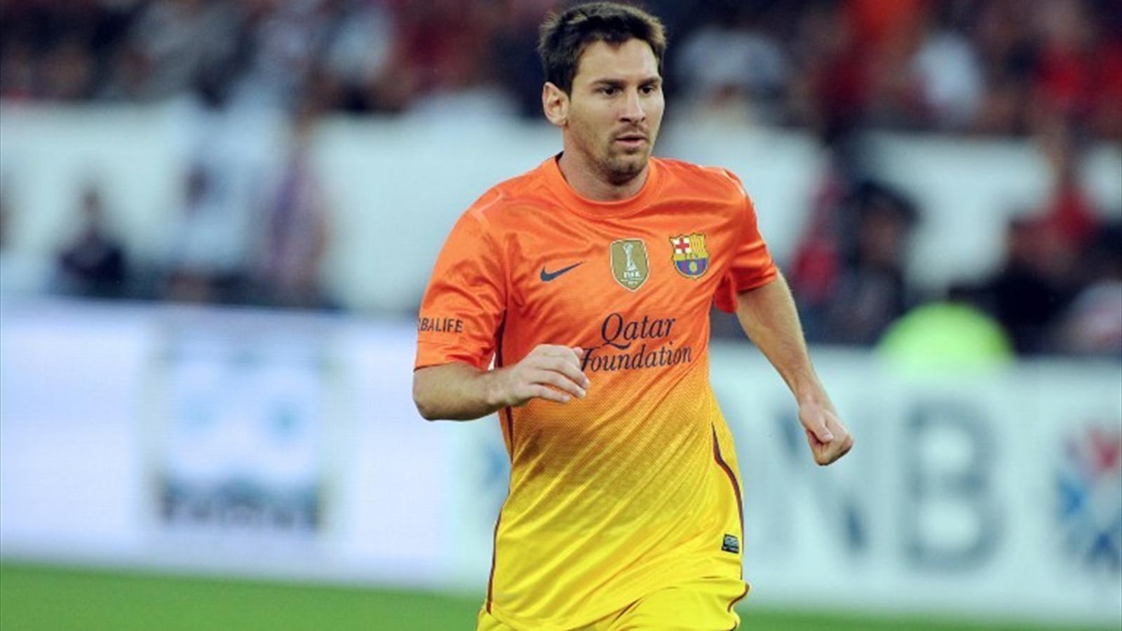 Lionel Messi, 2012