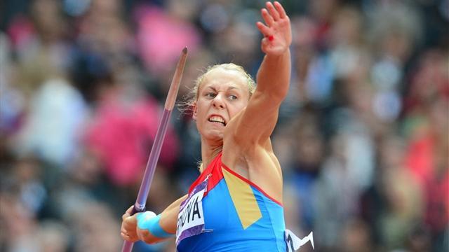 La Russe Chernova privée du bronze à l'heptathlon aux JO de Pékin