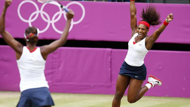 Serena adds Olympic doubles gold to singles win