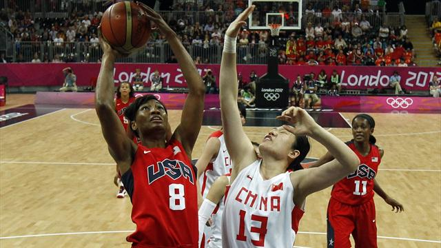 US thrash China to complete Olympic quarters line-up