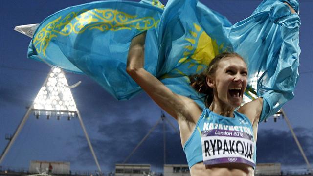Rypakova wins gold in Olympic triple jump