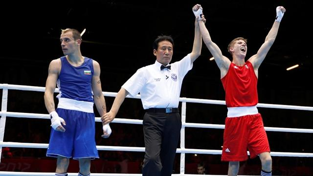 Campbell in the Olympic medals after tough win