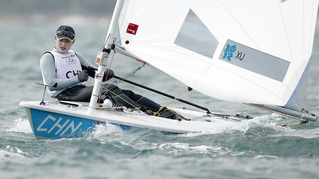 Xu wins Olympic laser gold, Ireland's Murphy fourth
