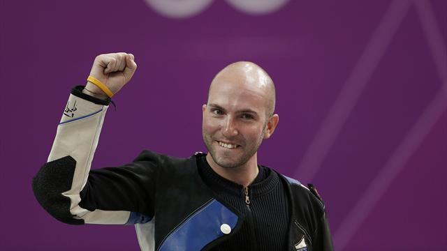 Campriani wins Olympic rifle gold, quits to go to Sheffield Uni