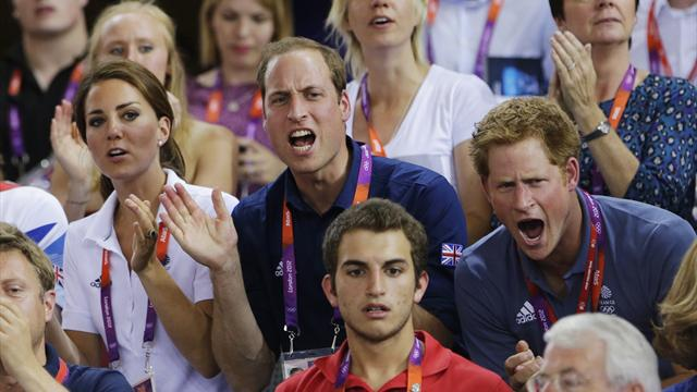 How do they do it? The young royals get everywhere at the Games