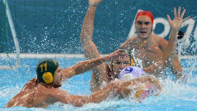 Australia stun Greece in Olympic water polo
