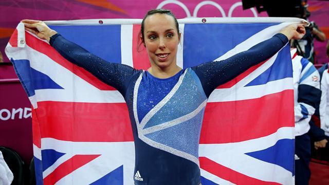 Tweddle wins first GB women's Olympic gymnastics medal