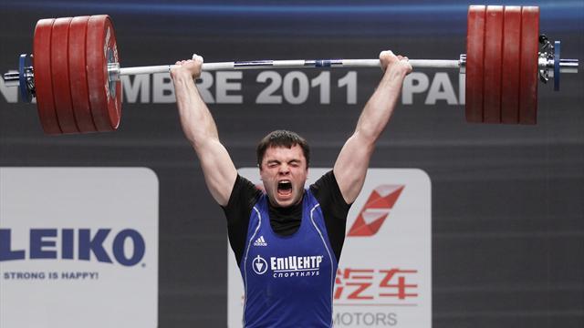 Ukraine's Torokhtiy wins heavyweight gold