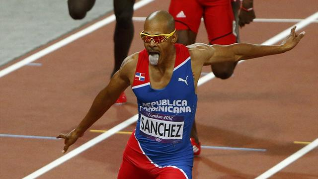 Sanchez wins Olympic 400m hurdles as Greene misses out