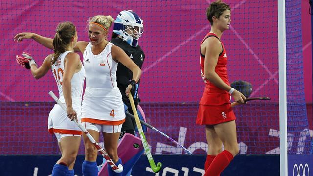 Britain in Olympic semis despite loss