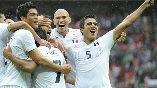 Mexico beat Japan to make Olympic football final