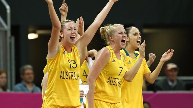 Australia set up US Olympic semi showdown