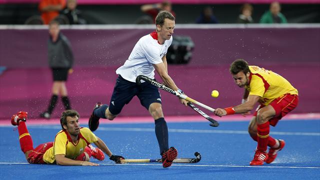 Britain in Olympic hockey semis, Spain livid