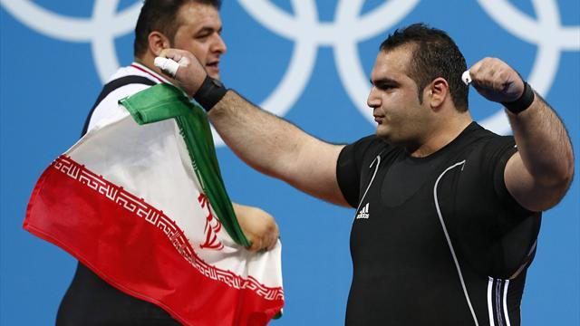 Salimikordasiabi is strongest man at Olympics