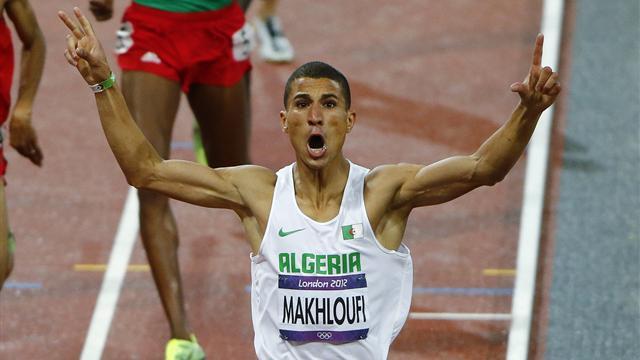Makhloufi destroys field to win Olympic 1500m gold