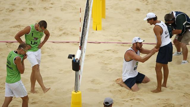 Brazil move into Olympic beach volley final