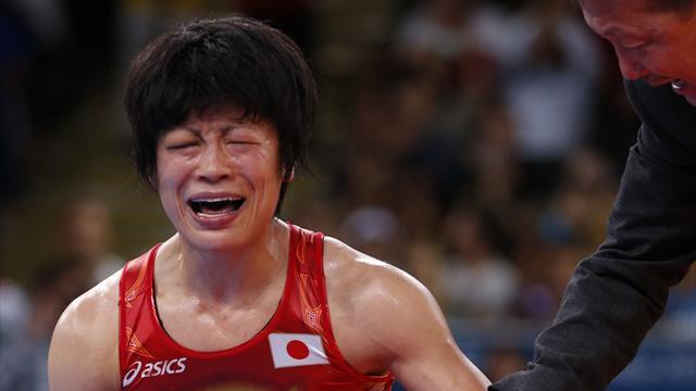 Obara wins women's 48kg freestyle gold