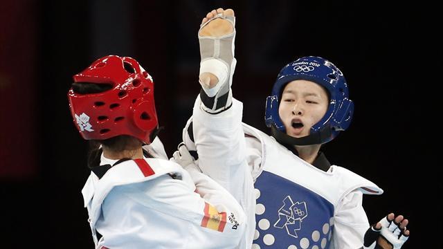 Wu wins 49kg Olympic taekwondo gold