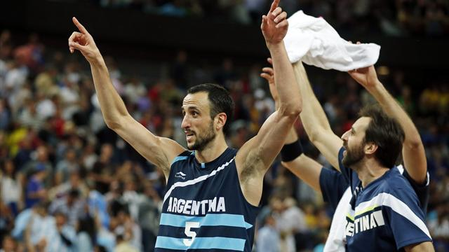Argentina oust Brazil to make Olympic semis